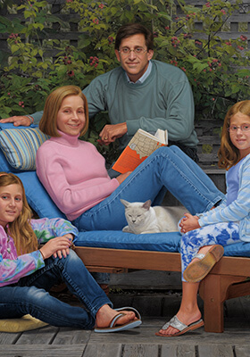 Family Portrait by Marvin Mattelson