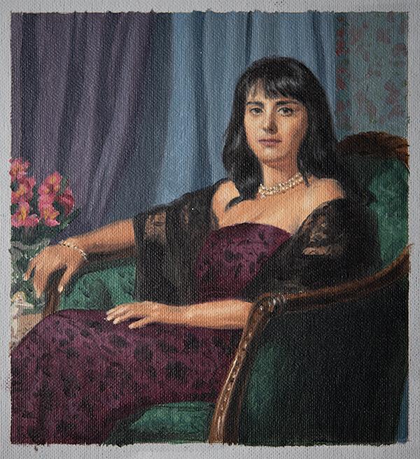 Portrait Color Study by Marvin Mattelson