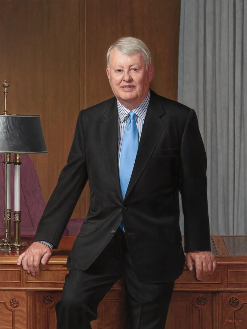 Portrait of Robert Cripps, Velcro Industries by Marvin Mattelson