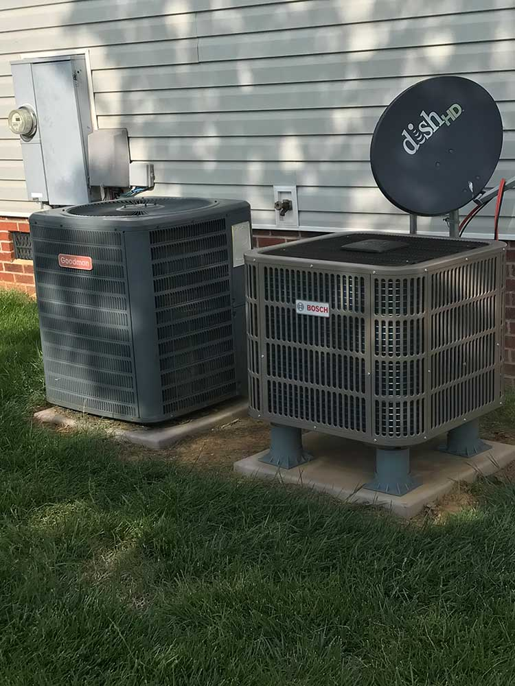 air conditioning project in raleigh