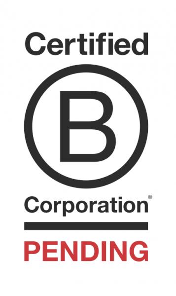 B Corp Pending logo
