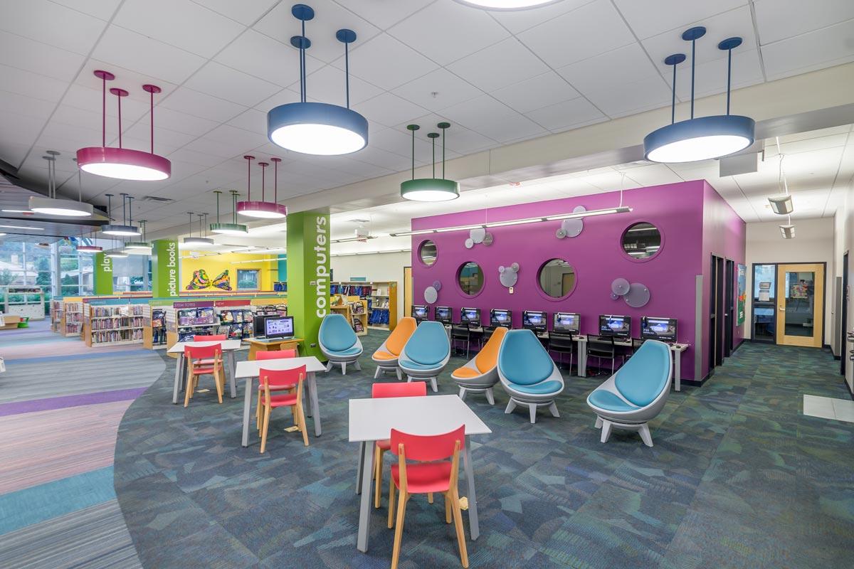 Addison Public Library Interior Renovation