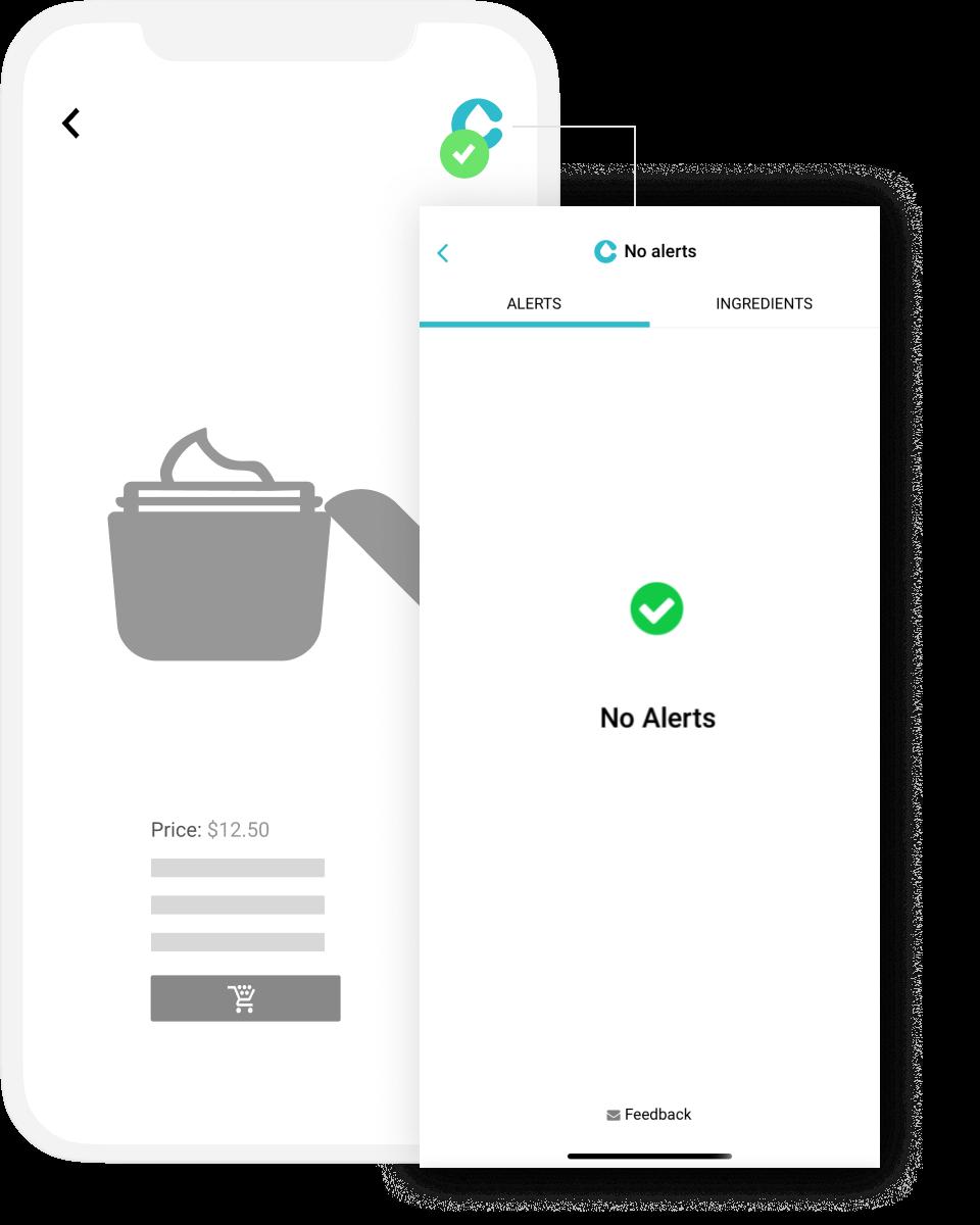 Clearya app screen