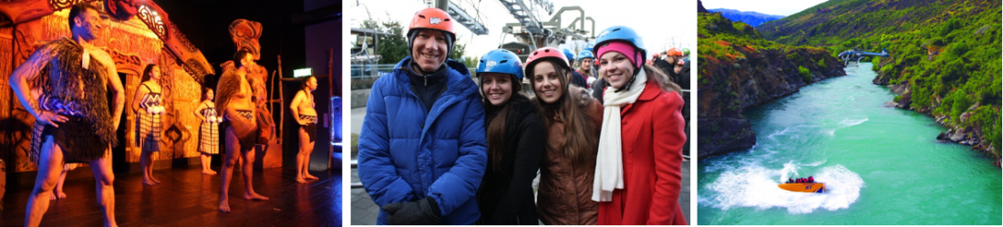 West Moreton college students on their school trip to New Zealand