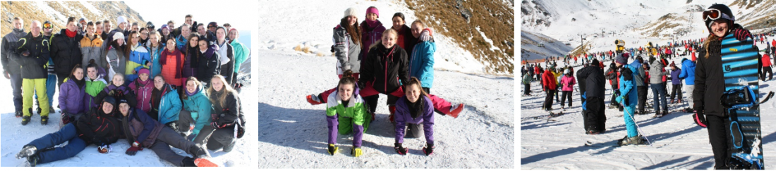 West Moreton college students on their 2018 ski trip to New Zealand