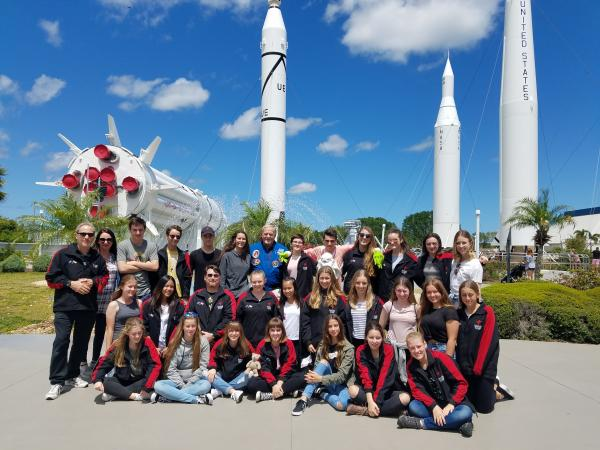 Prendiville Catholic College at the Rocket Garden
