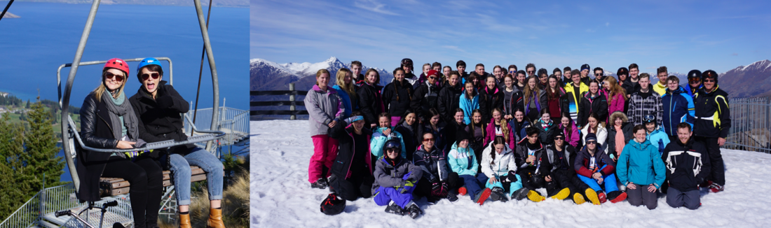 West Moreton visit New Zealand on their school ski trip