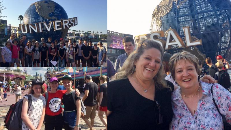 Hillbrook school visits Universal Studios