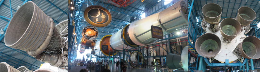 King's College - school trip to Space Camp, Saturn V