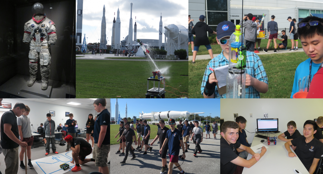 King's College - school trip to Space Camp