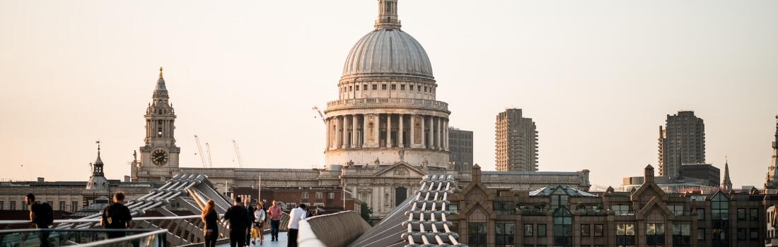 Scenic shot of London city
