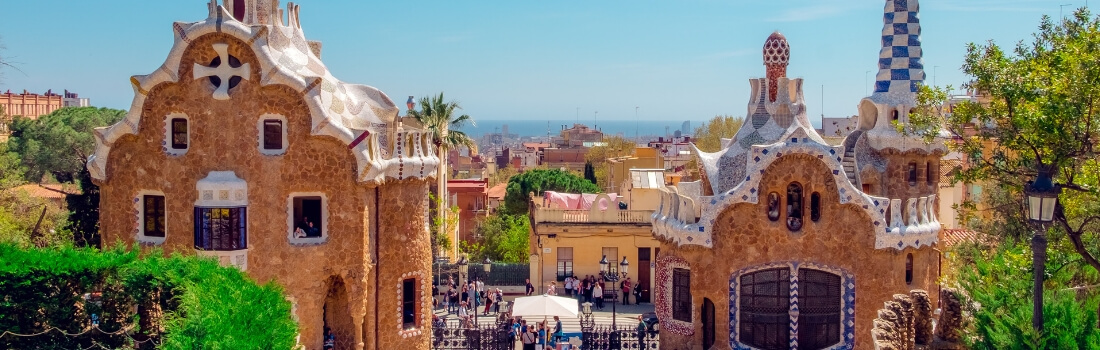 Park Guell in Barcelona