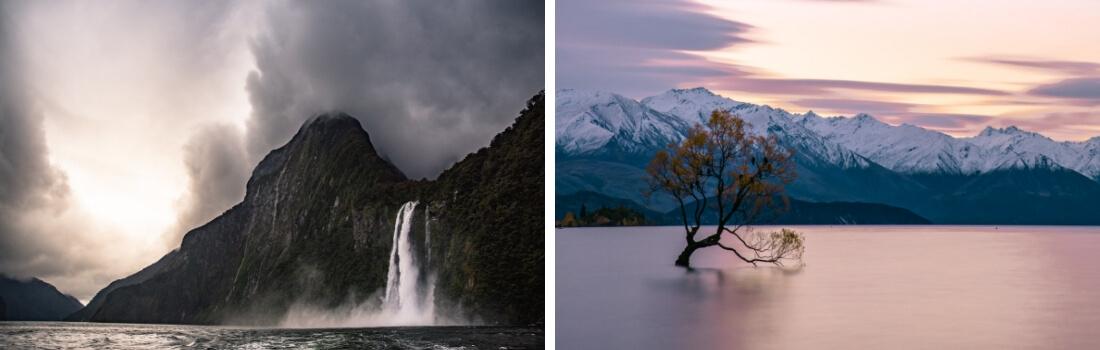 Beautiful New Zealand scenery