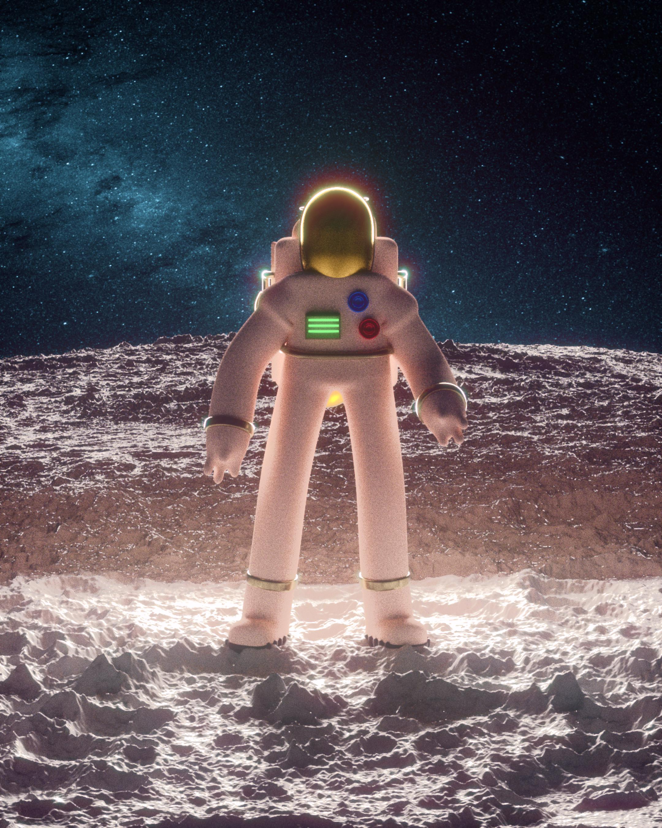 Cosmonaut from Icarus - 2021