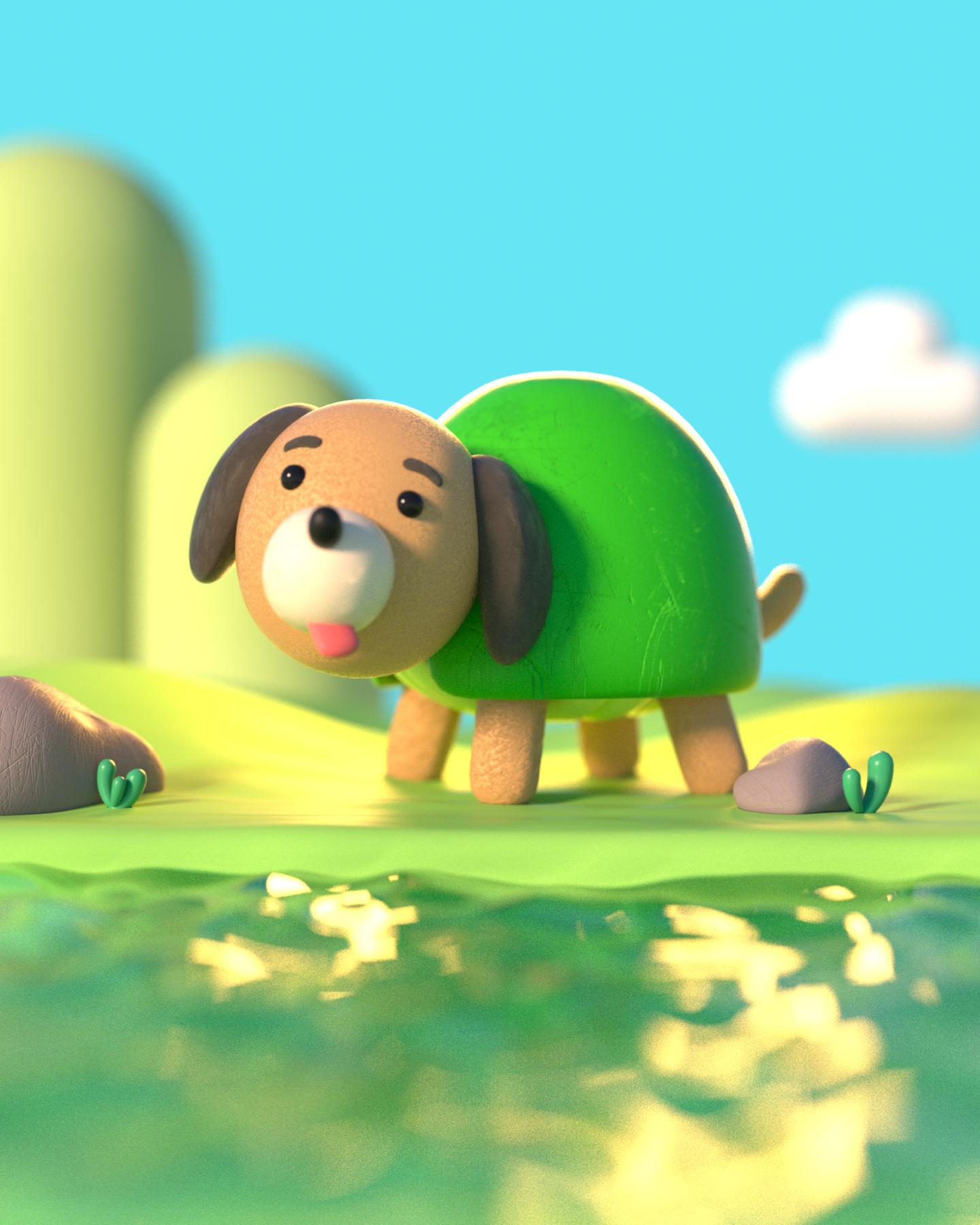 Dog Turtle 2021
