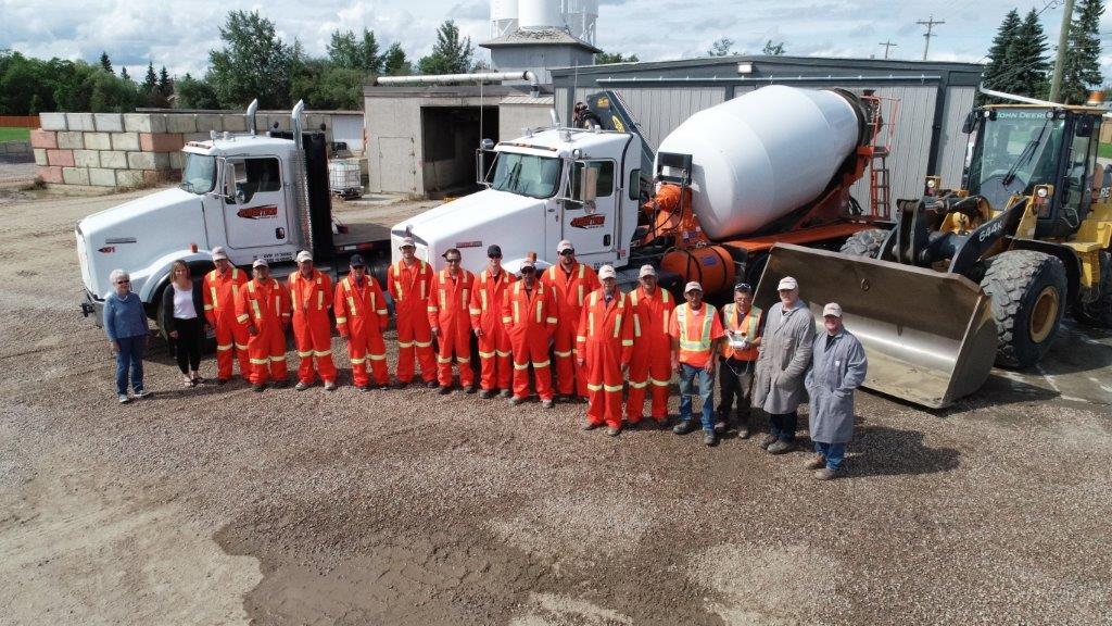 Photo of the Robertson Group Team in St.Paul, Alberta.