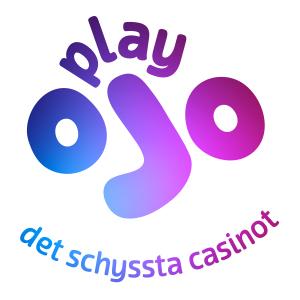 Play ojo logo med text