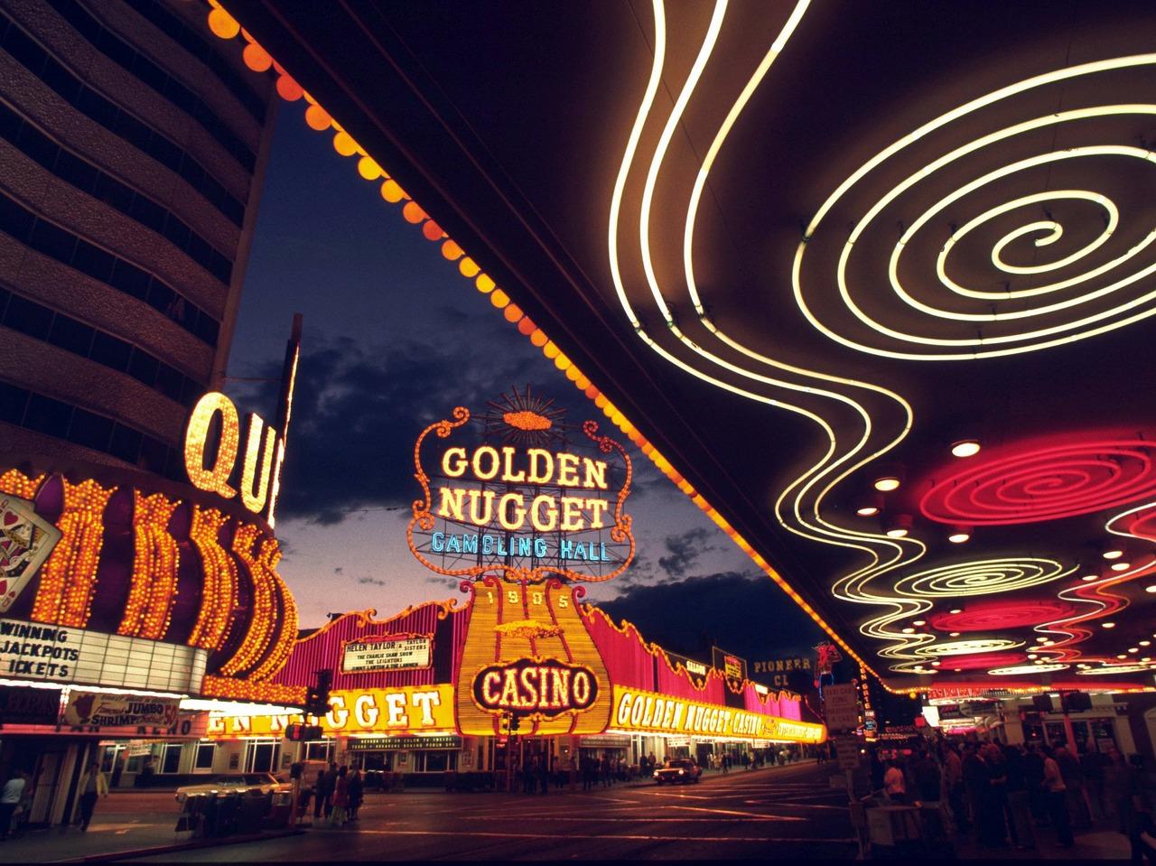Las Vegas retro bild