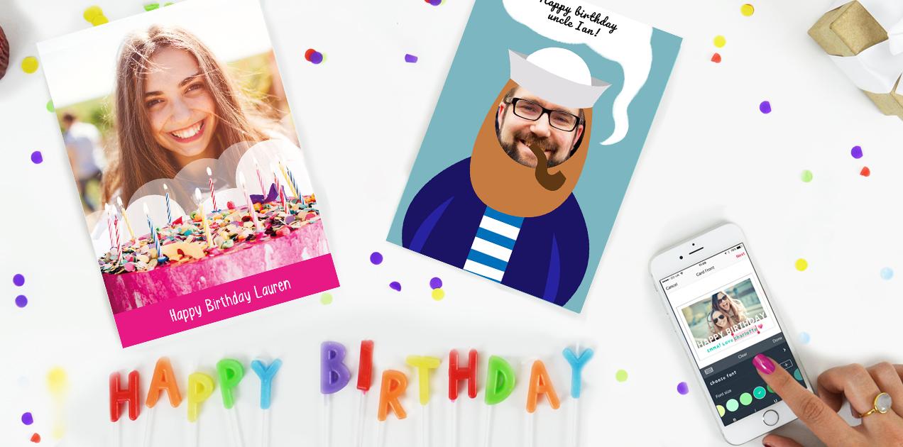 PostSnap Photo Greeting Card App
