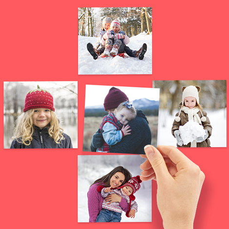 Send square photo prints online