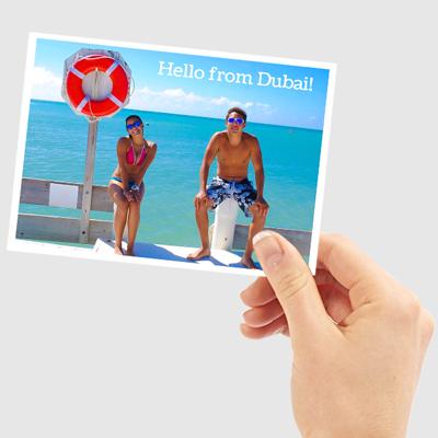 Send a standard postcard