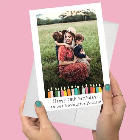 A5 Landscape Folded Photo Cards
