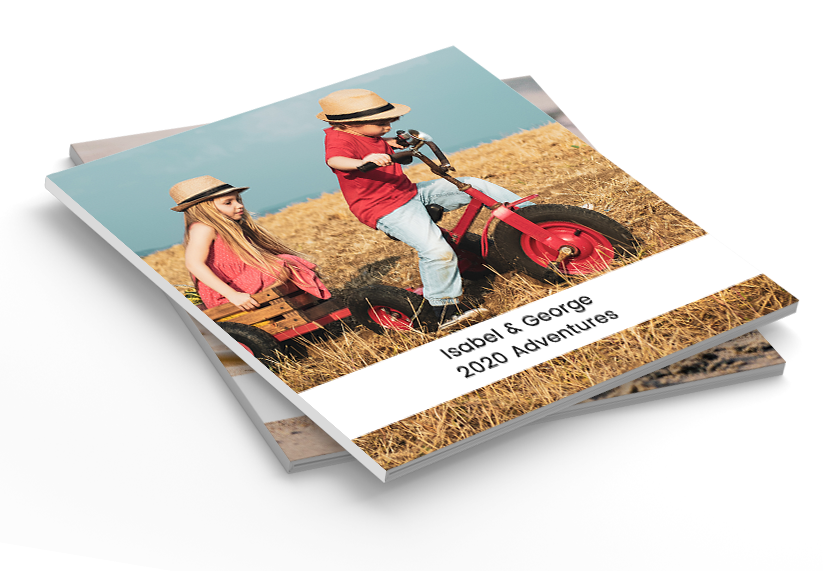 Personalised Photo Book Magazine