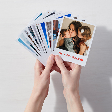 Print Instagram Photos on Retro Polaroid-Style Prints