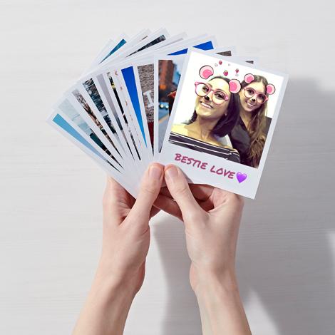 Print Instagram Photos on Retro Polaroid-Style Prints