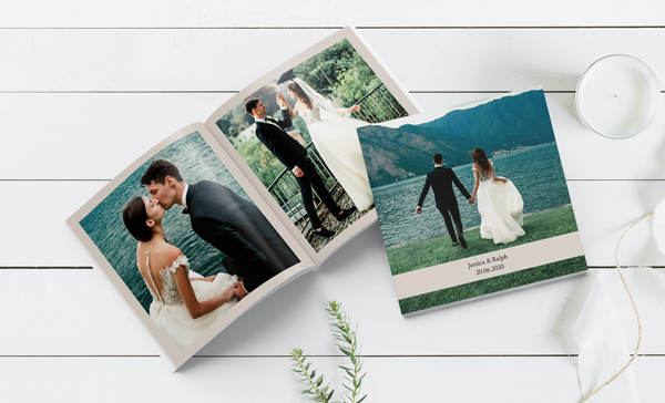 Create Wedding Photo Books Online