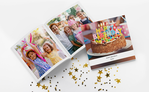 Create Birthday Photo Books