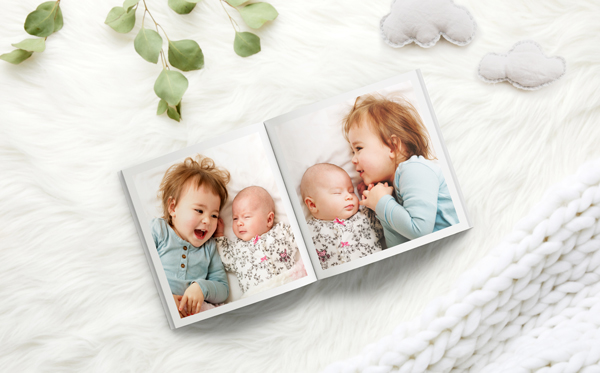 Create Baby Photo Books Online