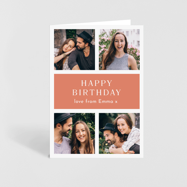 Personalised Photo Birthday Cards