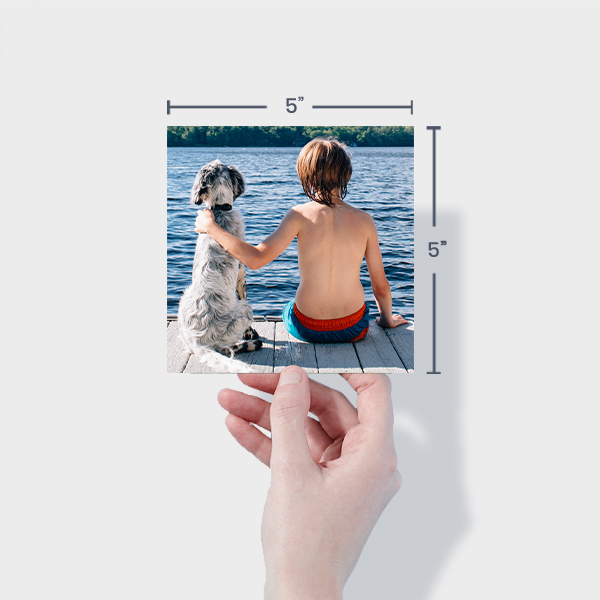 Order Small Square Photo Prints Online - 5x5