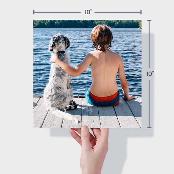 Order Small Square Photo Prints Online - 10x10
