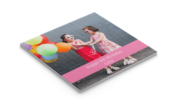 Create Square Photo Books Online