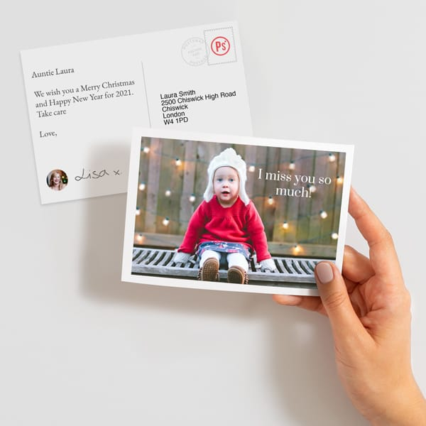 Send a photo postcard online