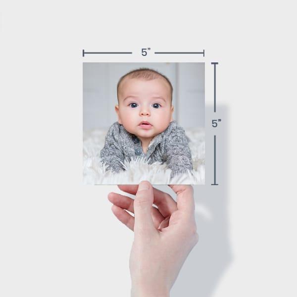 Baby Photo Prints 5x5