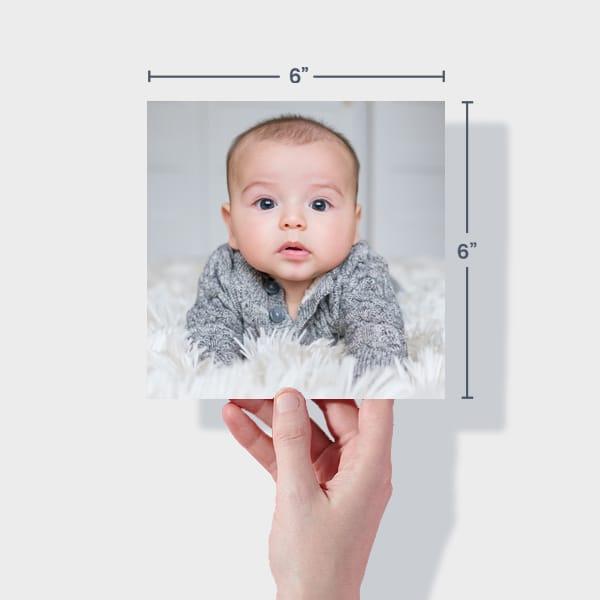 Baby Photo Prints 6x6