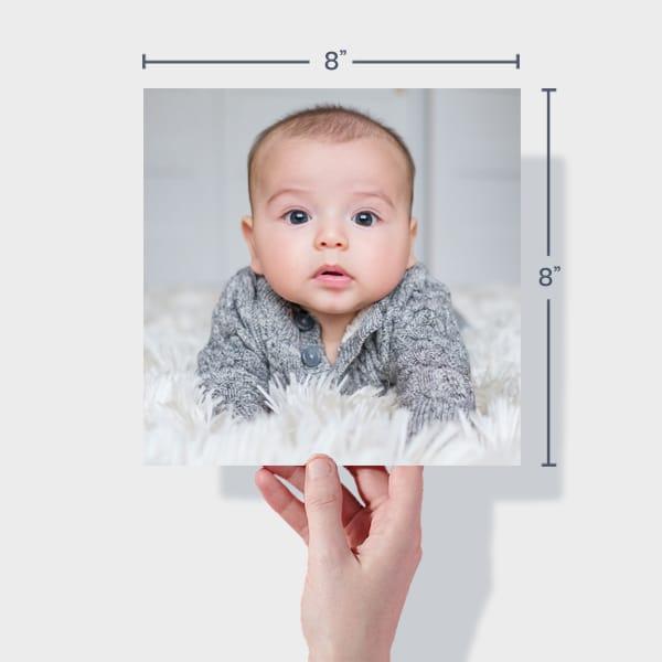 Baby Photo Prints 8x8