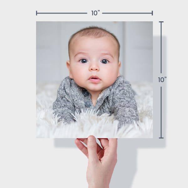 Baby Photo Prints 10x10