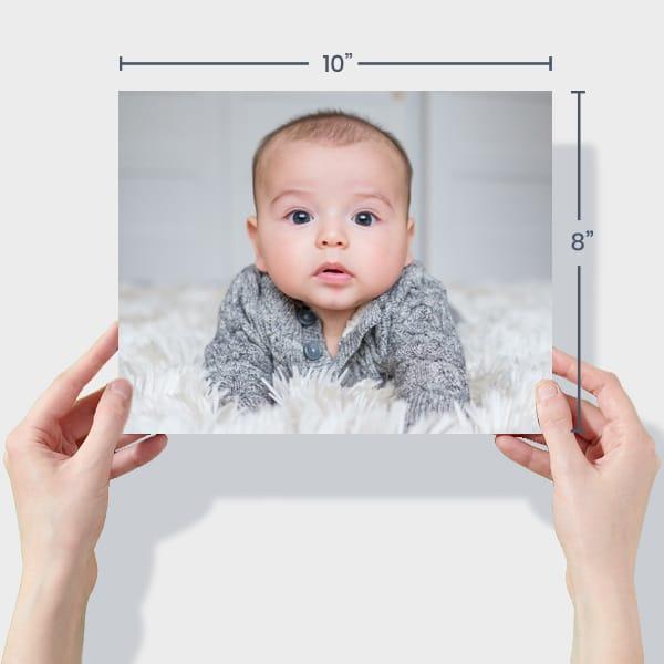 Baby Photo Prints 10x8
