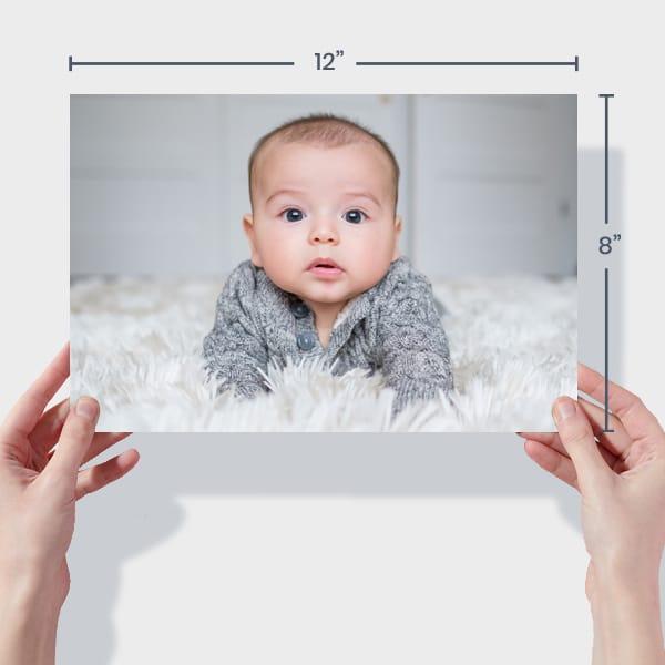 Baby Photo Prints 12x8