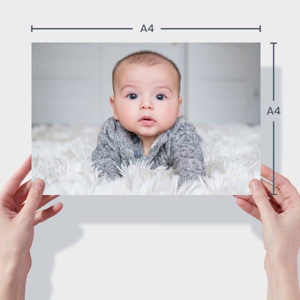 Baby Photo Prints A4