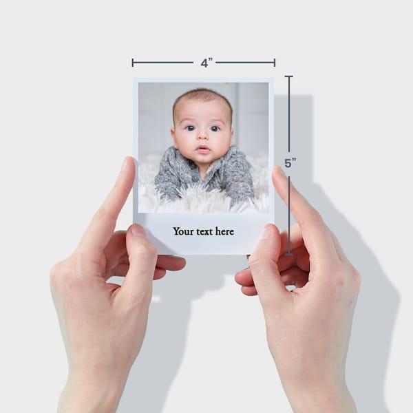 Baby Photo Prints Polaroid-Style