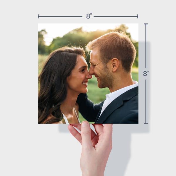 Print Wedding Photos Online - 8x8