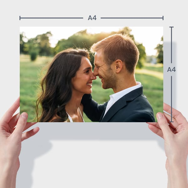 Print Wedding Photos Online - A4