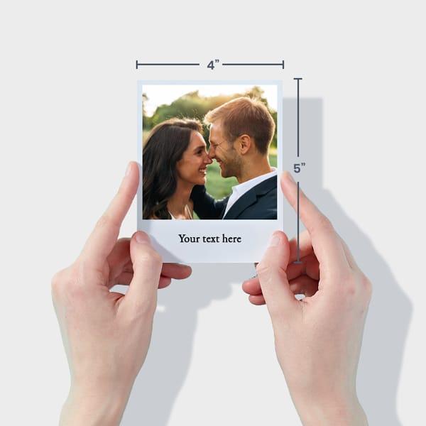 Print Wedding Photos Online - Polaroid Style