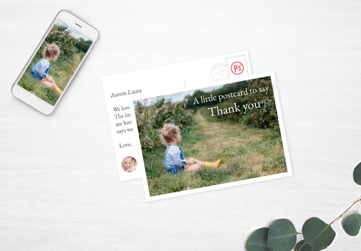 Send Personalised Photo Postcards Online