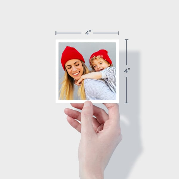 Order Small Square Prints Online - 4x4